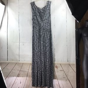 Spense heathered sleeveless maxi dress